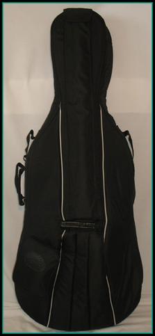 Housse cello noire