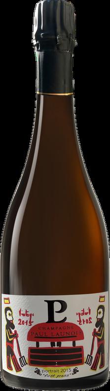 Bouteille de la cuvée Composition, champagne Grand Cru chardonnay Blanc de blancs | Champagne Launois Paul @ Le-Mesnil-sur-Oger - Côte des Blancs (Marne, 51, proche Épernay)