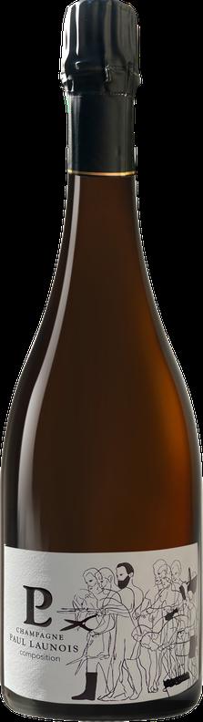 Bouteille de la cuvée Composition, champagne Grand Cru chardonnay Blanc de blancs   Champagne Launois Paul @ Le-Mesnil-sur-Oger - Côte des Blancs (Marne, 51, proche Épernay)