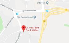 Ausschnitt aus Karte von Google Maps