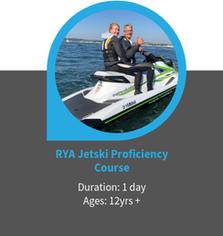 RYA Jetski PWC Proficiency Course Poole