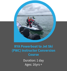 RYA Powerboat Instructor to Jetski Instructor Conversion Course Poole