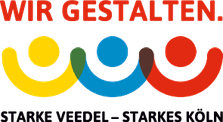 Logo Wir gestalten. Starke Veedel – Starkes Köln
