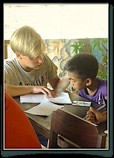 volunteer, volunteering, education, teaching children in Bali, teaching English