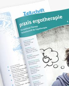 Zeitschrift: praxis ergotherapie