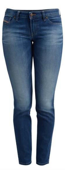 Jeans für schmale Figuren