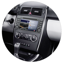 Navigationsgerät / Naviceiver AL-CAR EASINAV Drive für Mercedes-Benz Fahrzeuge