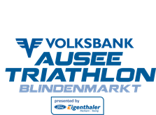 VOLKSBANK Ausee Triathlon Blindenmarkt Logo