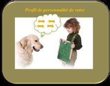 Demandez un profil de personnalité de votre chien