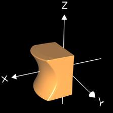 Interpolation Kegel Würfel