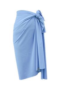 sustainable sarong - light blue