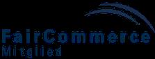 """Mitglied der Initiative """"FairCommerce"""""""