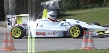 Rennwagenpilot Werner Graf, Austragungsort Romont FR - Maag-isch® Sponsoring 2005