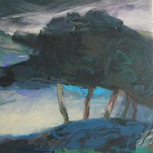 Wechsel 2010 50 x 50 cm Öl / Leinwand