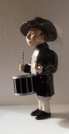 Keramik Fasnachtsfigur