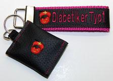 Diabetiker Typ1 Schlüsselanhänger Notfallset
