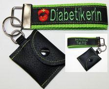 Nofallset Diabetiker Schlüsselanhänger