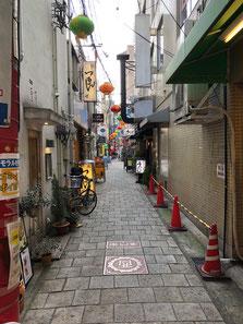 路地の写真