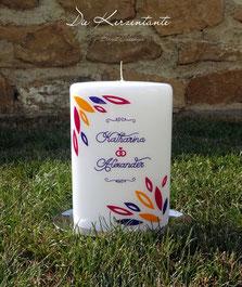 Hochzeitskerze: Die Kerzentante