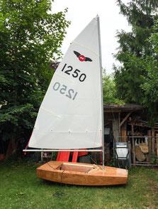 Segelboot für Kinder Bausatz