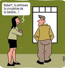 humour : circulation du qi (doc DNA)
