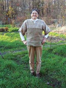 完全自家製の服の製作は、シンディーにとって、忘れられない経験になりました。Photo by Stephanie Conner