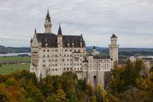 Wandern, Neuschwanstein, Hohen Schwangau, Alpsee, Füssen