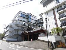 行動起点は、筑波山神社の近くのホテル