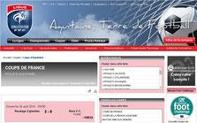 Résultats 1er tour de coupe de France - Eglantins Hendaye