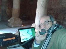 Activación Castillo de Valfermoso de Tajuña, dentro del Aljibe