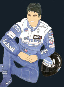Damon Hill by Muneta & Cerracín