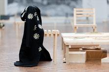 Vue de l'exposition Nothing at all, hypothèses de coexistence au musée des beaux-arts de Brest.  © Mathieu Le Gall
