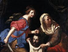 Guerchin, Judith et Holopherne, 1651, huile sur toile, collection musée des beaux-arts de Brest métropole.