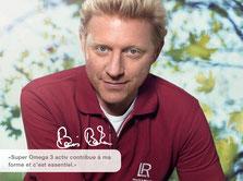 Boris Becker, joueur de tennis professionnel