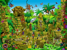 Lost Temple Wimmelbild Puzzle