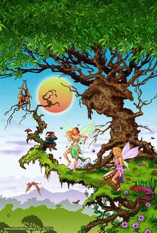 Wonderland Fantasy Elfen Puzzle