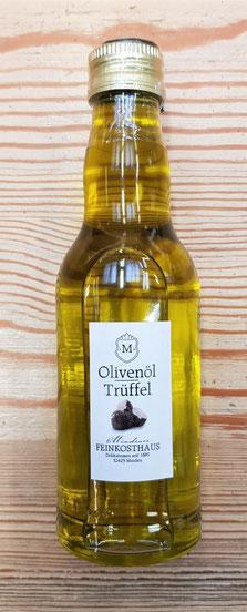 kaltgepresstes Olivenöl mit Trüffelaroma