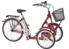 Pfau-Tec Primo Front-Dreirad Beratung, Probefahrt und kaufen in Braunschweig