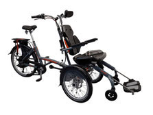 Van Raam O-Pair Rollstuhl-Dreirad Elektro-Dreirad Beratung, Probefahrt und kaufen in Pfau-Tec Scootertrike Sessel-Dreirad Elektro-Dreirad Beratung, Probefahrt und kaufen in Erding