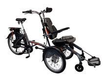 Van Raam O-Pair Rollstuhl-Dreirad Elektro-Dreirad Beratung, Probefahrt und kaufen in Saarbrücken