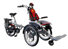 Van Raam O-Pair Rollstuhl-Dreirad Elektro-Dreirad Beratung, Probefahrt und kaufen in Ulm