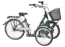 Pfau-Tec Bene Front-Dreirad Beratung, Probefahrt und kaufen in Düsseldorf