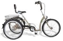 Pfau-Tec Comfort Dreirad Elektro-Dreirad Beratung, Probefahrt und kaufen in Düsseldorf