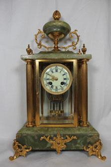 Französische Pendule Quecksilberpendel ca. 1880