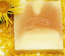 Jophiel Aromaöle und Die kleine Perlenwerkstatt Seife Ringelblume