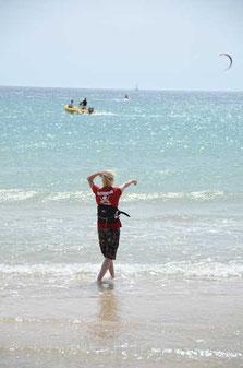 Kitesurfen Lernen und Kite Kurse an 8 ausgesuchten Lernrevieren