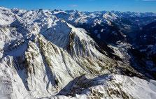 Helikopterflug übers Berner Oberland