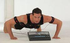 Elektrische Muskelstimulation (EMS) mit Miha Bodytec