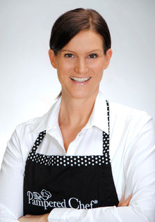 Stephanie Ebbing, Pampered Chef Beraterin, Kochschürze