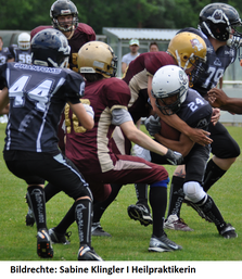 Action beim American Football